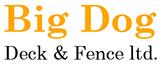 Big Dog Decks Logo